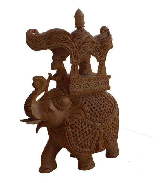 Home Accessory Elephant Wooden Elephant Wooden Elephant Statue