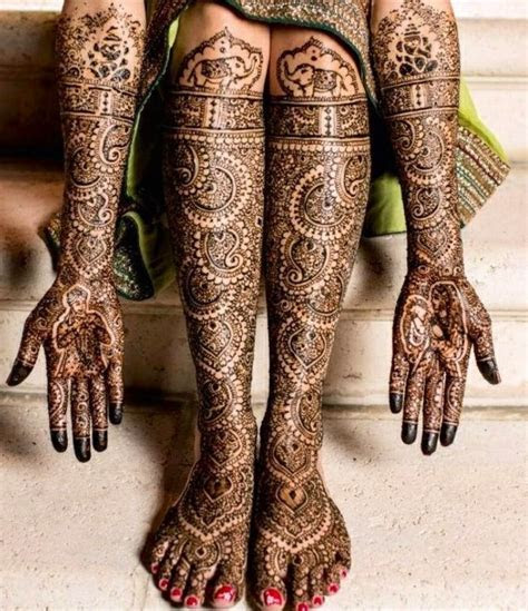 Indian intricate bridal henna Check out more desings at
