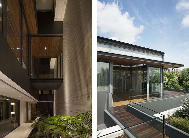 Architecture: Lovely Ambience Indoor And Outdoor At Travertine ...