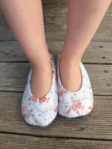 Heather Ross's Sole-ful slippers