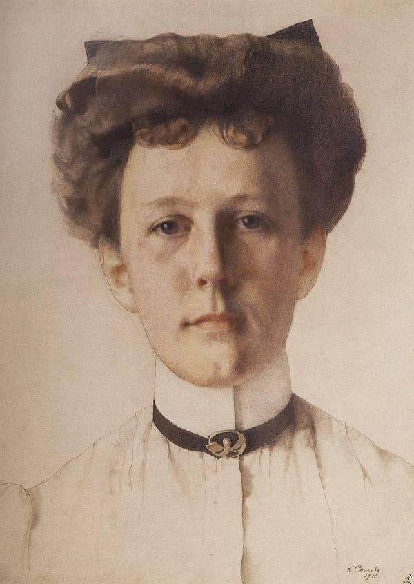 Сомов Портрет А.А.Нольде. 1911
