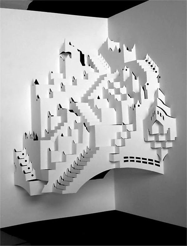 Extremely Creative Examples of Kirigami Art A Hobby to Addapt (23)