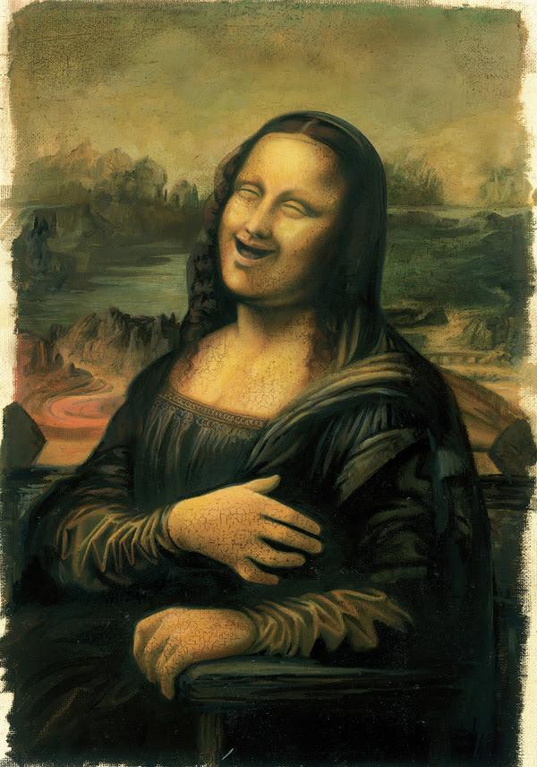 Evolusi dari Lukisan Mona Lisa 13