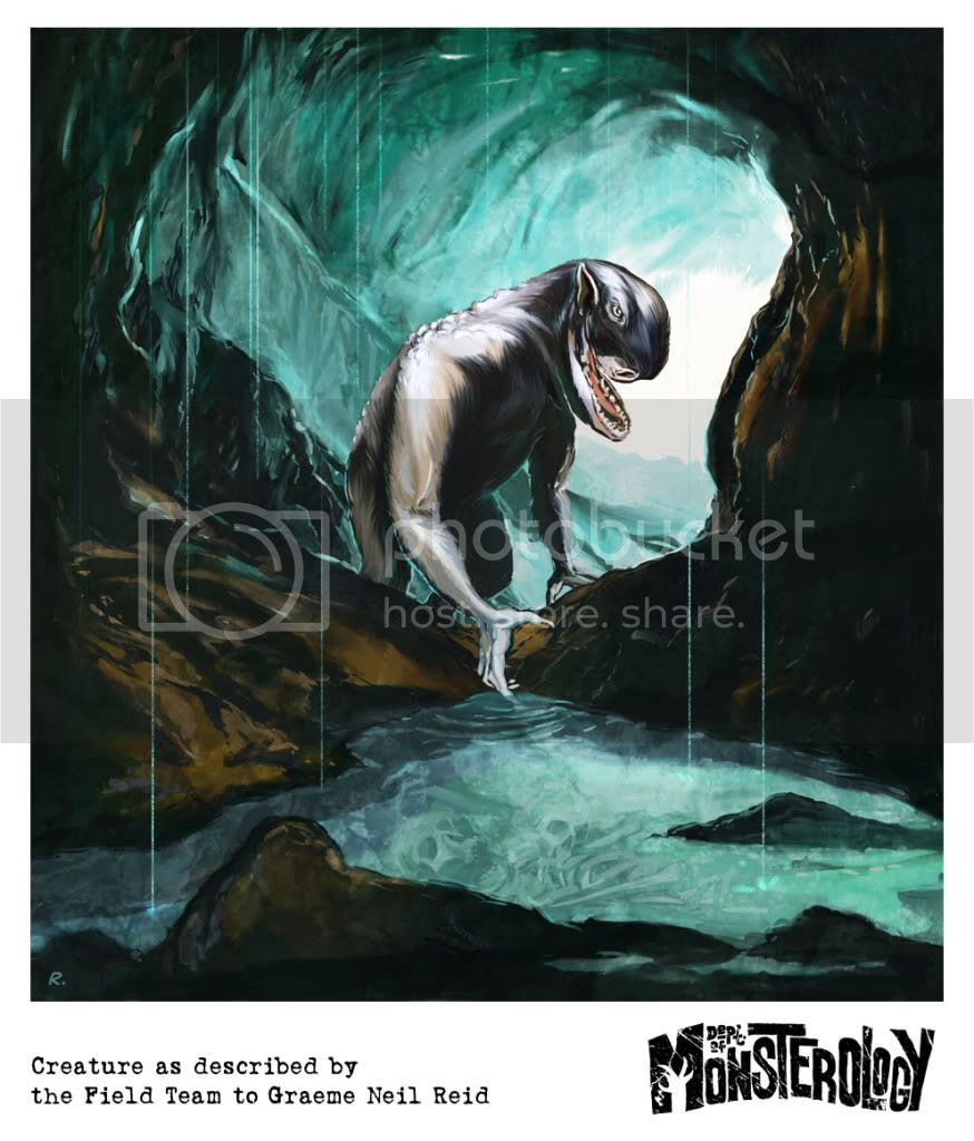 Graeme Neil Reid,Illustration,Monster