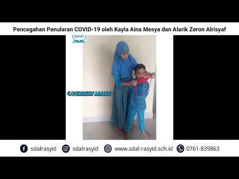 Pencegahan Penularan COVID 19 oleh Kayla Aina Mesya dan Alarik Zeron Alrisyaf
