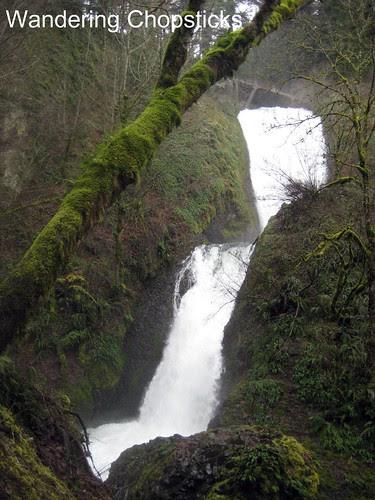 6 Bridal Veil Falls (Winter) - Columbia River Gorge - Oregon 1