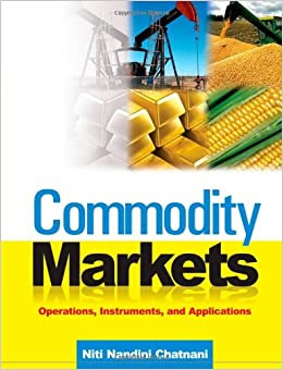 Commodity Markets Operations Instruments And Applications