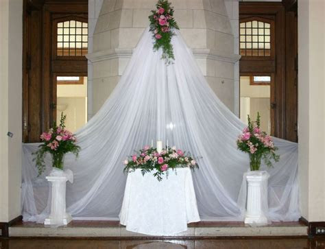 17 Best ideas about Altar Decorations on Pinterest