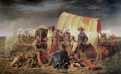 pioneers on the California Trail