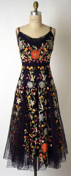 Cocktail Dress 1940s #vintage