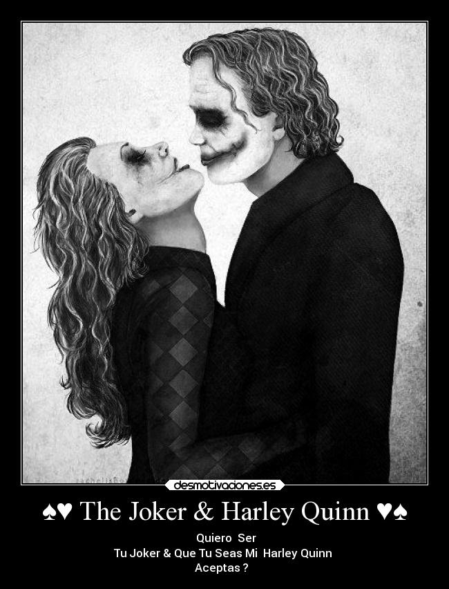 The Joker Harley Quinn Desmotivaciones