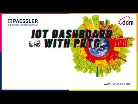 VIRTUAL EVENT PRTG FOR IOT DASHBOARD 5 Agustus 2020