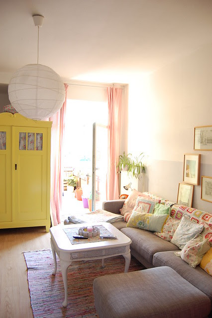 the new old yellow armoire