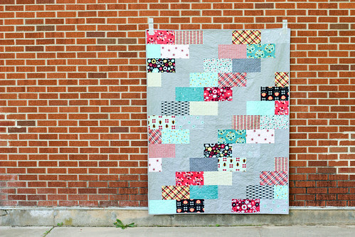 Nordika Side Braid Quilt by Jeni Baker