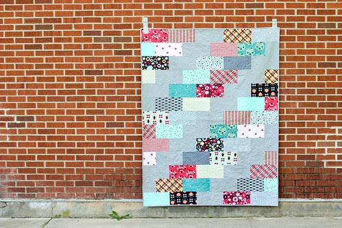 Nordika Side Braid Quilt by Jeni Baker