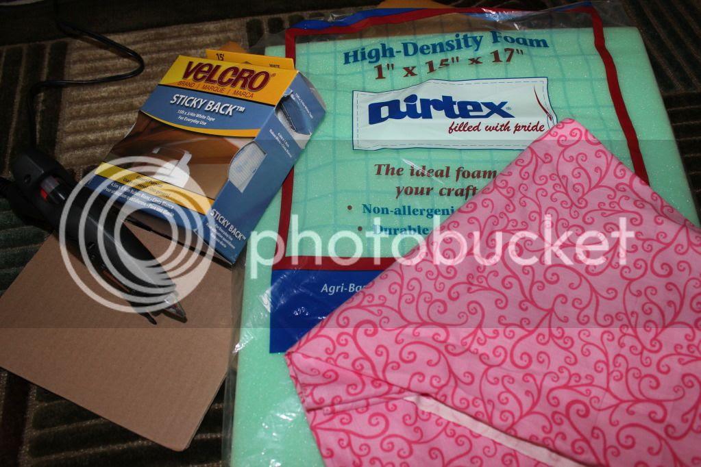 {Breezy Pink Daisies} DIY Camera Bag/Purse
