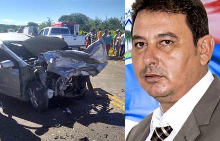 Roberto Carlos Rocha ficou preso às ferragens e não resistiu aos feriementos - Foto: Reprodução | Blog do Marcelo