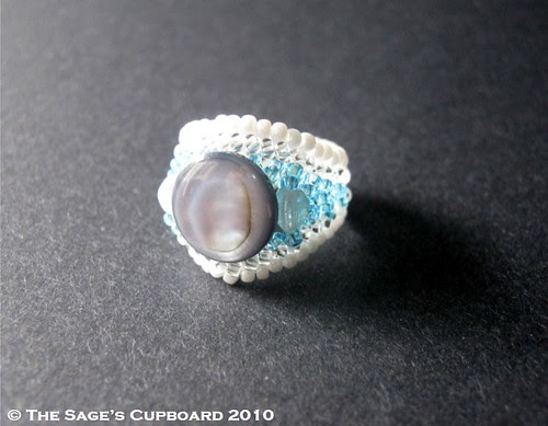 Sea Breeze Ring by The Sage's Cupboard, on Flickr