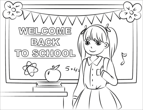 8600 Printable Coloring Pages Back To School For Free