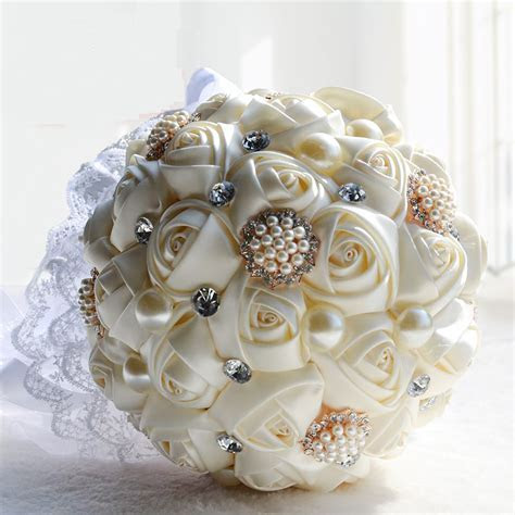 2016 Bridal Bridesmaid Wedding Bouquet Cheap New Luxury