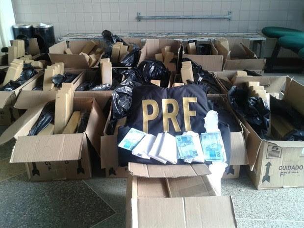 Apreensão PRF Bahia 3 (Foto: Divulgação/PRF)