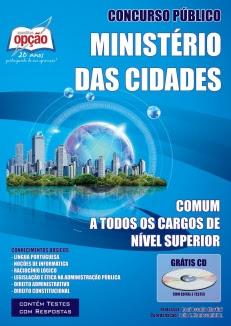 Ministério das Cidades-COMUM AOS CARGOS DE NÍVEL SUPERIOR-AGENTE ADMINISTRATIVO (CLASSE A, PADRÃO I)