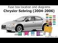 2006 Chrysler 300 Fuse Box Diagram