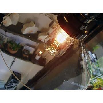 歴史とロマンの灯り 後藤照明 透明P1硝子セード レプリカライト(40cmコード) CP型