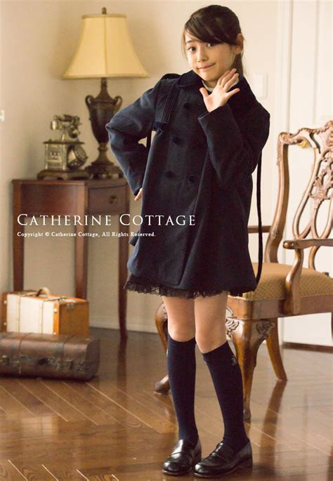Catherine Cottage: Children dress with hood classic child