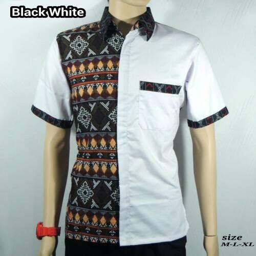 Desain Baju Batik Pria Kombinasi - Inspirasi Desain Menarik