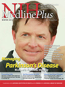 Cover of NIH MedlinePlus the Magazine Winter 2014 Issue