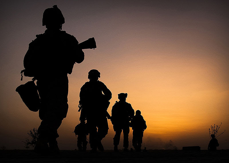 File:3rd Battalion 3rd Marines dawn patrol.jpg