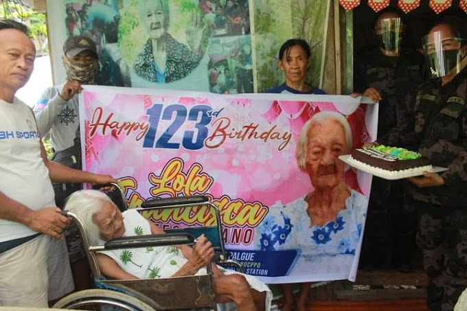 Oldest living Filipina celebrates 123rd birthday
