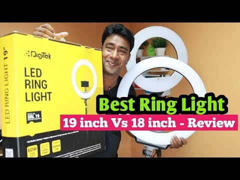 Cheap & Best DigiTek 19 inch Ring Light for YouTube, Instagram, Facebook video creator's - Review