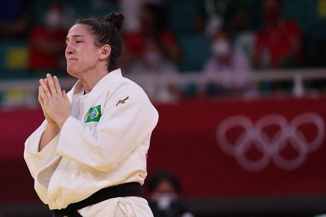 É bronze para o Brasil no judô! Mayra Aguiar vence a sua 3ª medalha olímpica