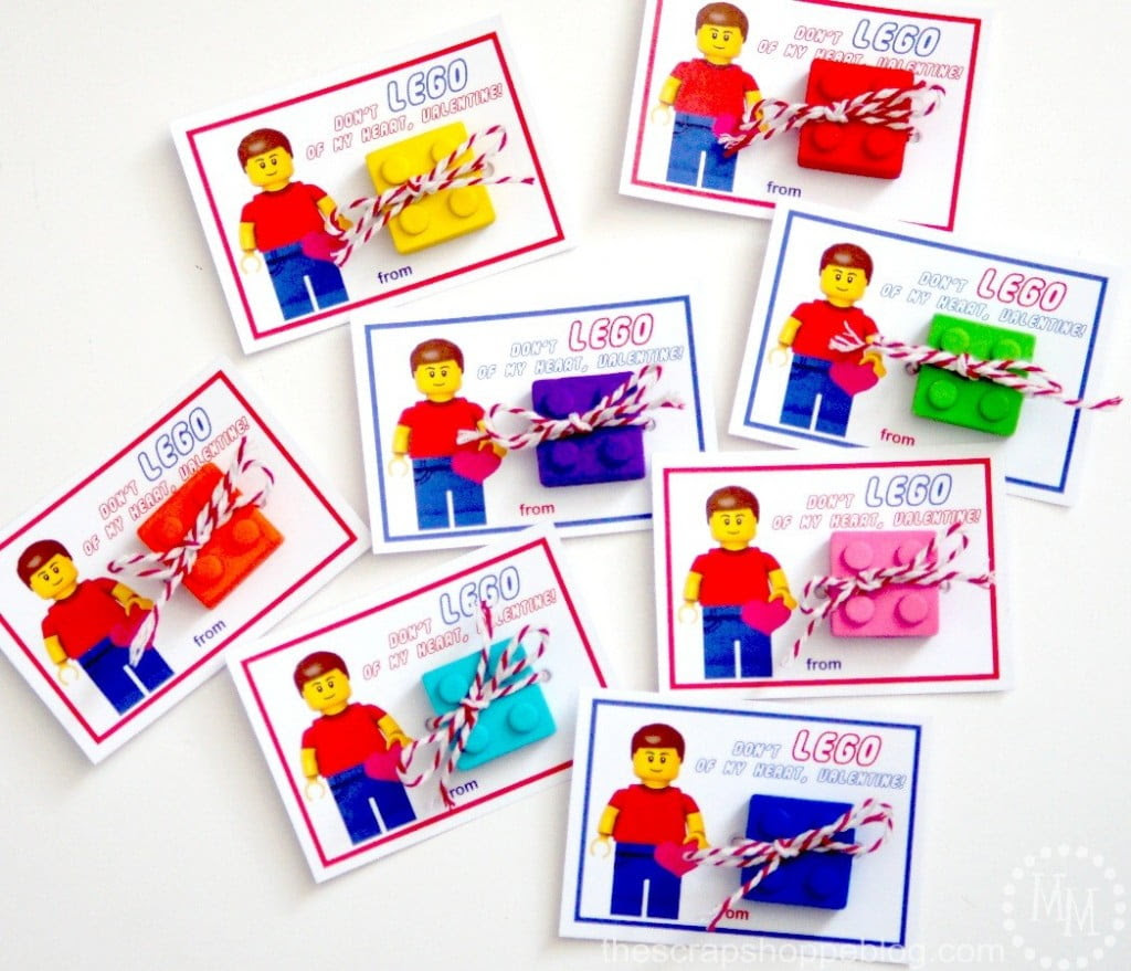 Must Have Craft Tips - Printable School Valentines