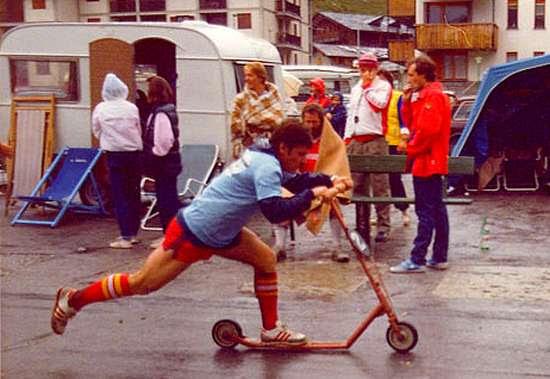24 heures de trottinettes de Cervinia 1984