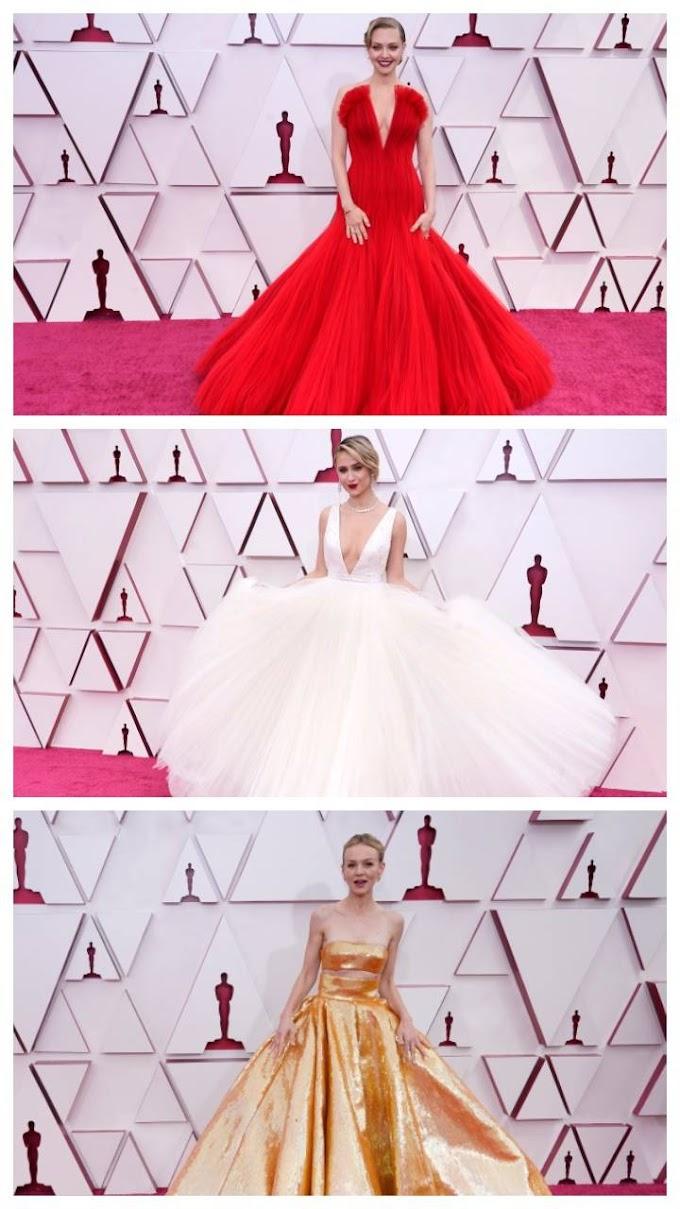 Oscars 2021: Best Red Carpet Looks