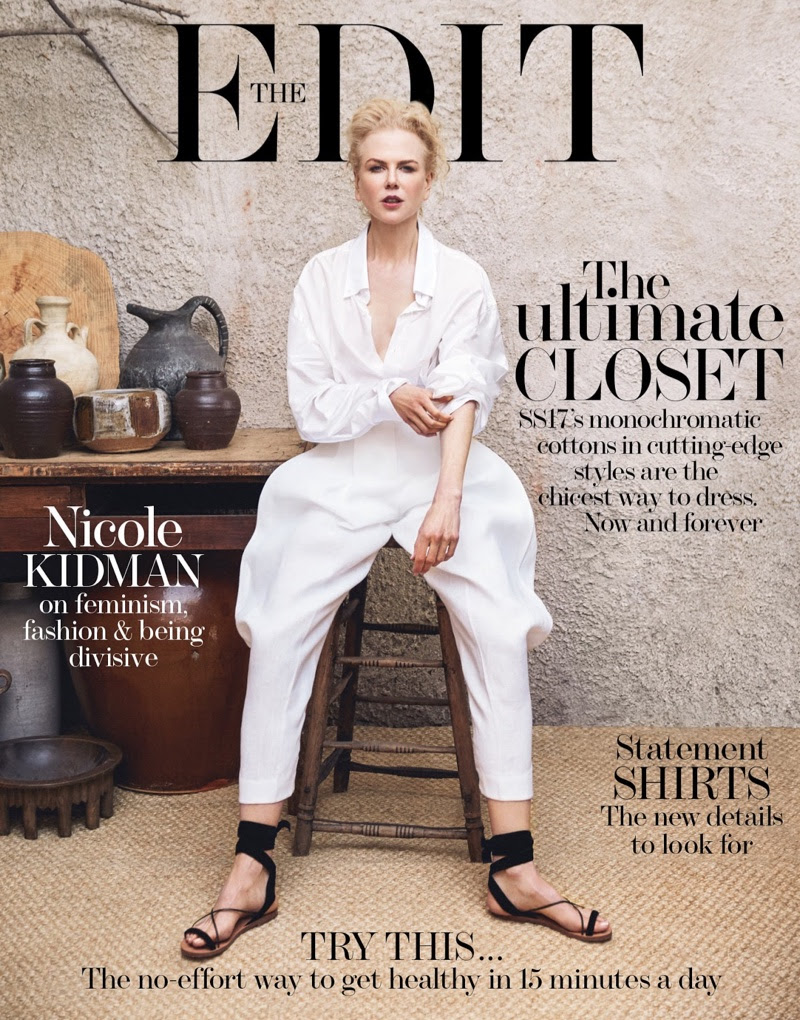 Nicole Kidman on The Edit February 16th, 2017 Cover