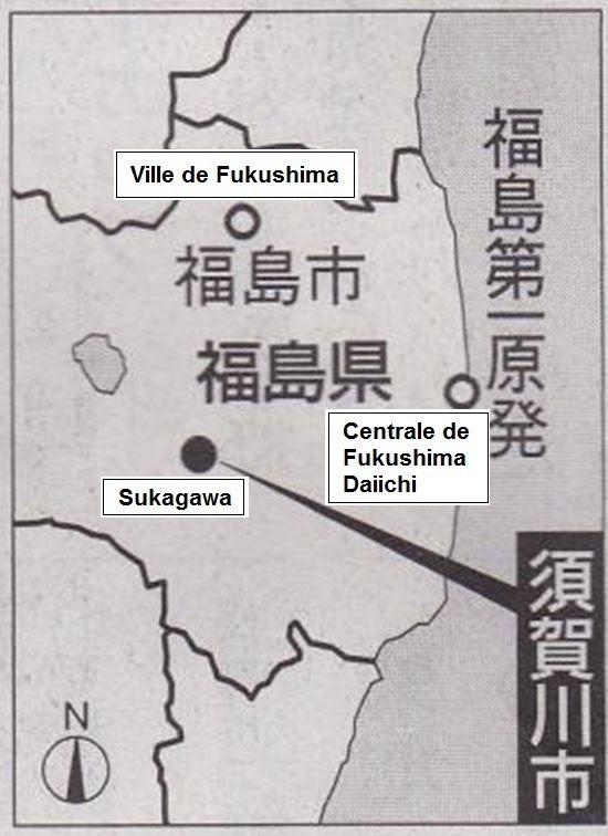 Localisation de Sukagawa