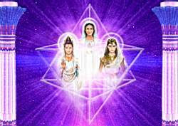 Seres del Merkaba Kwan Yin Maria e Isis Seres Celestiales Blancos Honrando Vuestros Rostros De Amor