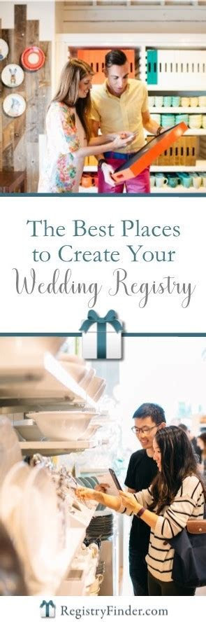 The Best Places to Create Your Wedding Gift Registry