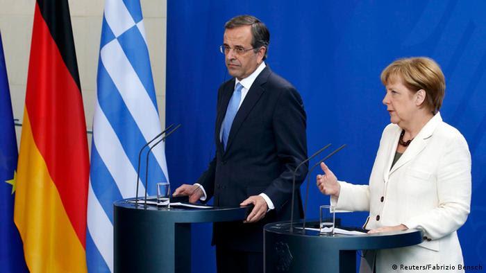 Merkel und Samaras PK 23.09.2014