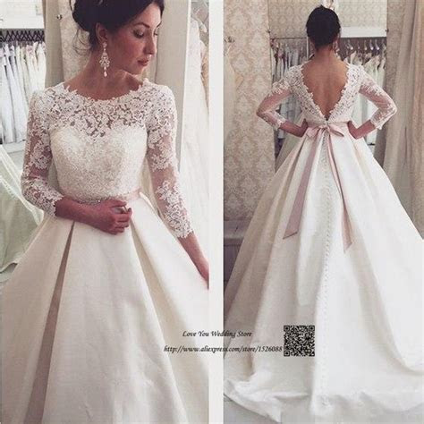 Vestidos de Noiva Vintage Princess Wedding Dress Long