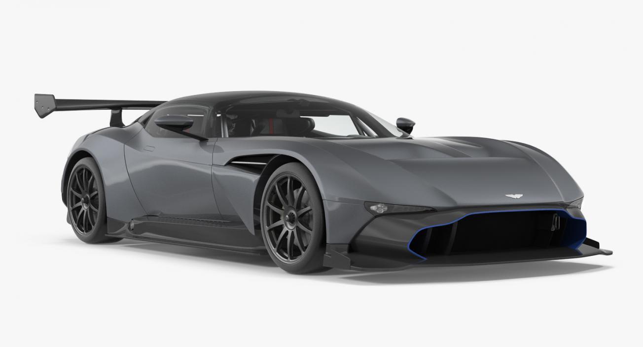 Aston Martin Vulcan 2016 3d Model 3d Molier International