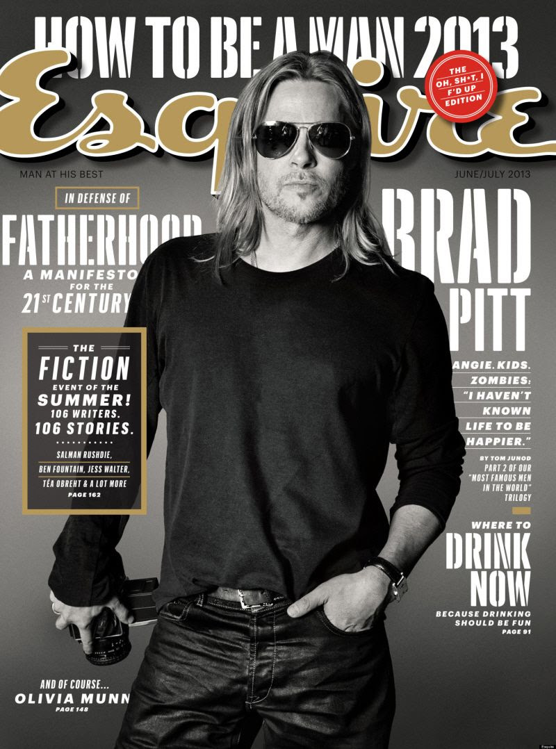 Brad Pitt : Esquire (June 2013) photo brad13.jpg