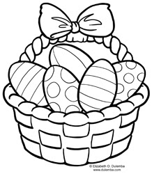 easter candy coloring pages - photo#50