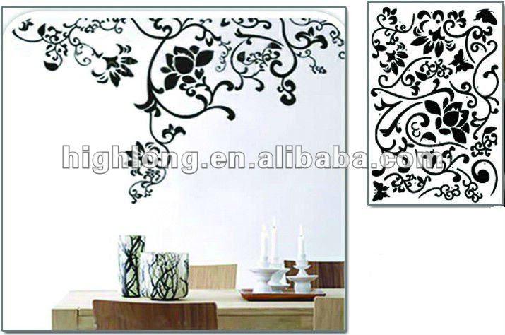 Vinyl Islamic Wall Art Stickers Solid Color - Buy Islamic Wall Art ...