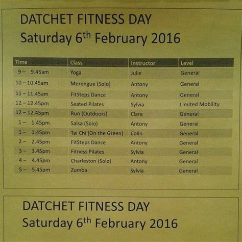 datchet fitness day home facebook