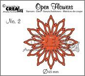 Open Flower stans nr. 2 / Open Flower die no. 2